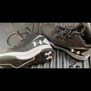 Y6 basketball shoes under armor
